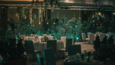 Marriott Event decorations