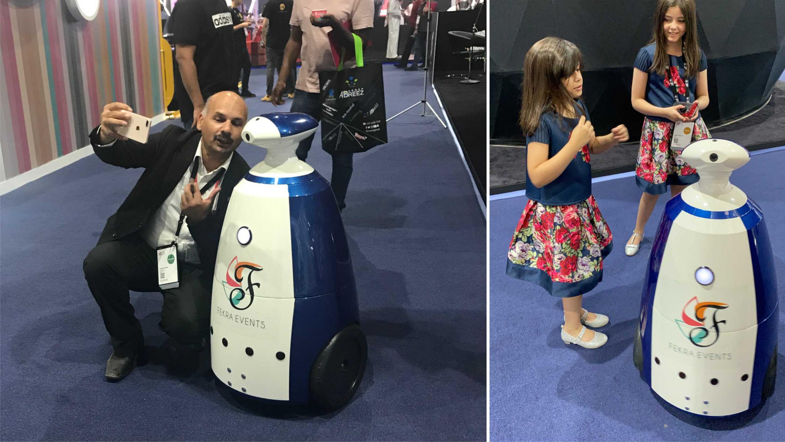 Interactive Robot R.Bot now in Saudi Arabia