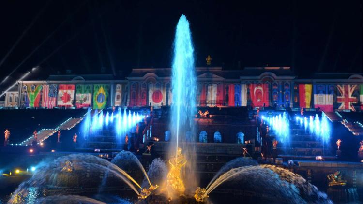 Light show G20