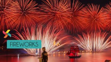 fireworks in saudi arabia by fekra events